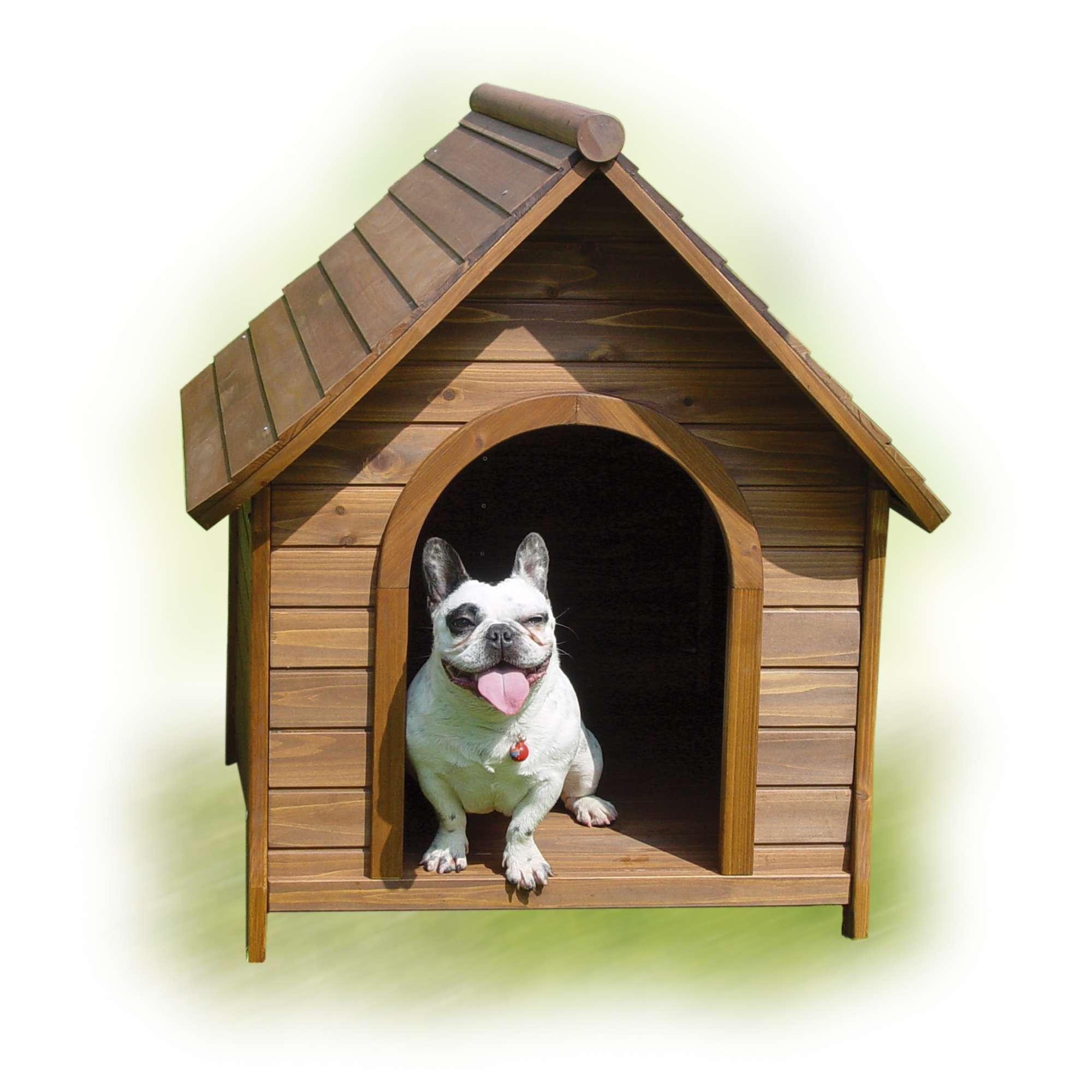 Caseta de madera nature ica s a - Verdecora mascotas ...